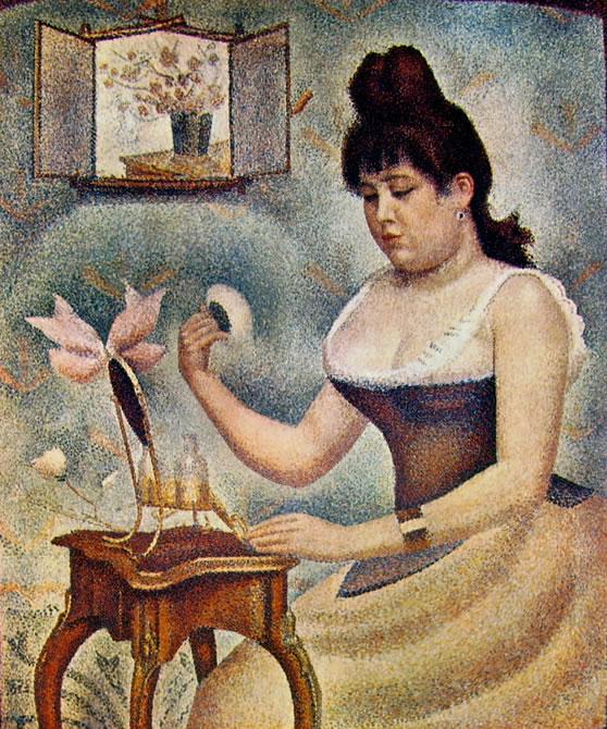 Georges-Pierre Seurat: Donna che si incipria