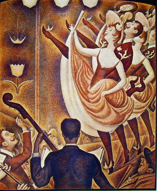 Georges-Pierre Seurat: Lo Chahut