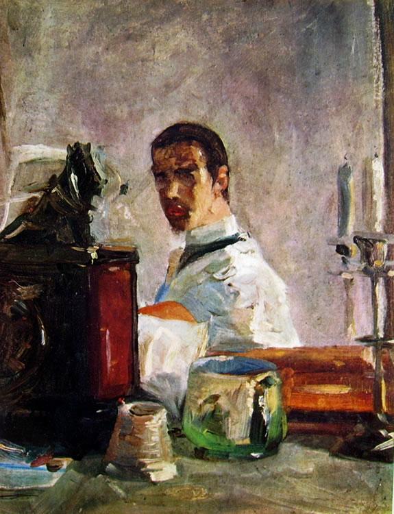 Toulouse-Lautrec: Autoritratto a 16 anni