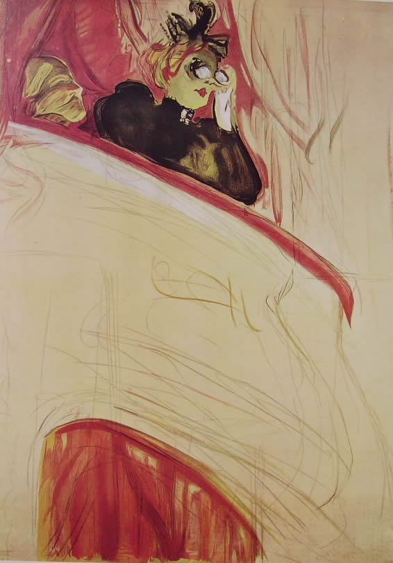 Toulouse-Lautrec: Nel palco
