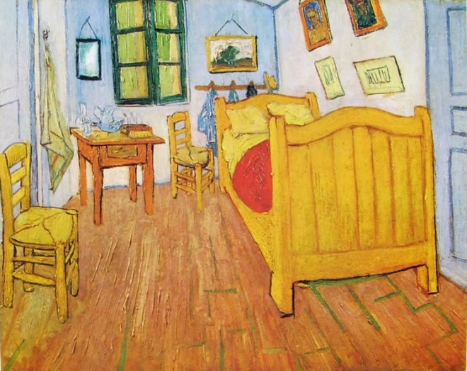 La camera di Van Gogh (o dell'artista) ad Arles,