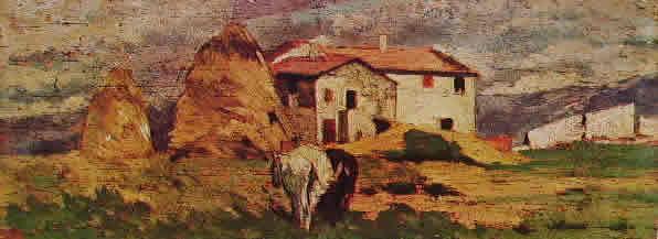 Fattori - Case nelle campagne livornes