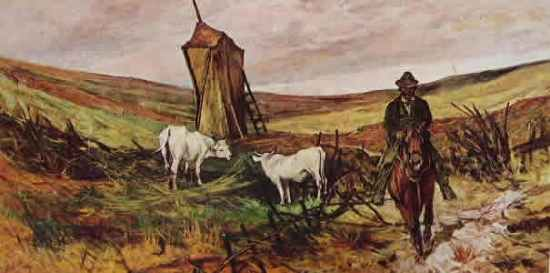 Fattori - Buttero e mucche