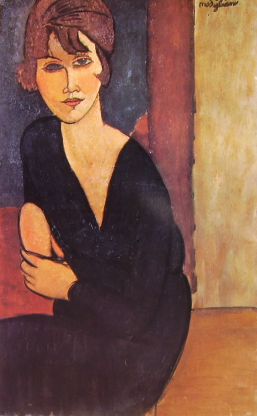 Amedeo Modigliani: Madame Reynouard