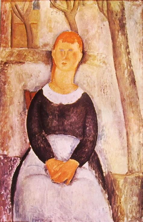 Amedeo Modigliani: La Bella droghiera