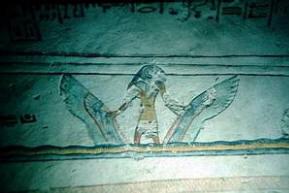 altro disegno nella tomba di Ramses VII (KV1)