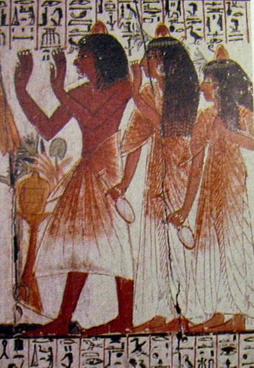 Sarcofago di Maherpra, XVIII dinastia, Museo Egizio, Cairo