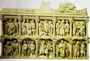 Sarcofago di Giunio Basso, Basilica di S. Pietro, Roma