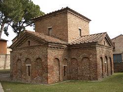 Mausoleo di Galla Placida (foto Wikipedia)