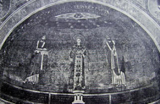 Mosaico absidale (Sant'Agnese, Roma)