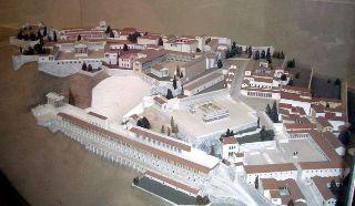 Modello dell'antica città di Pergamo