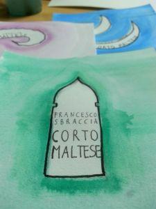 Dettaglio della copertina dedicata a Favola di Venezia.