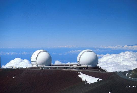 Keck Observatory Credit: NASA