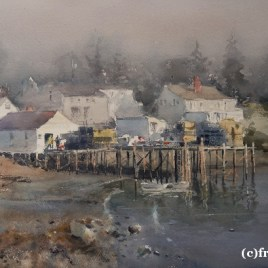 Lobster Traps Ready (2016) by Frank Eber