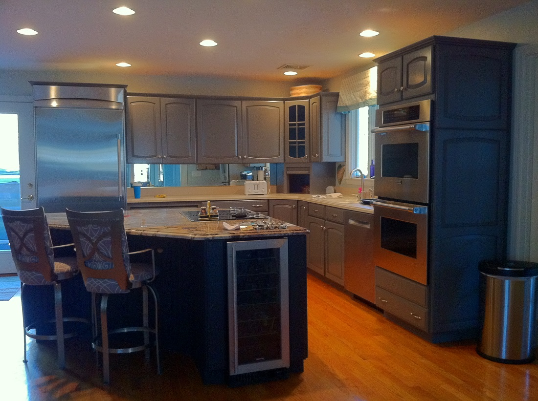 kitchen cabinet refinishing in bridgewater ma refinishing kitchen cabinets Kitchen Cabinet Resurfacing in Bridgewater MA