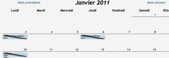 Planning Perso