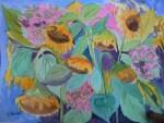 Sunflowers In Hingham