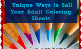 4 Unique Ways to Sell Your Adult Coloring Sheets