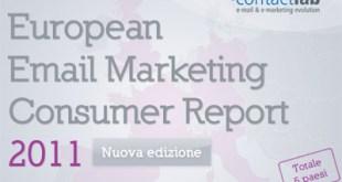 E mail Marketing Consumer Report 2011