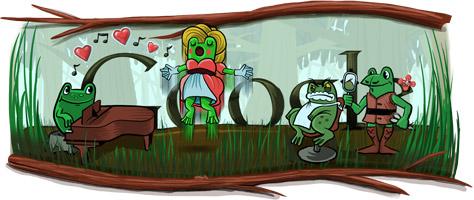 Gioacchino Rossini - Google doodle 2012