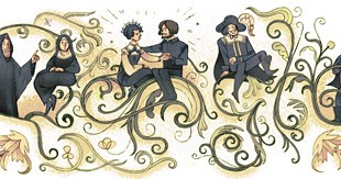 Google doodle Alessandro Manzoni