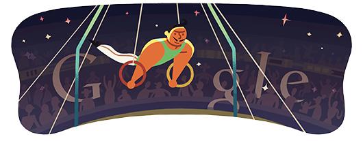 Google doodle - Londra 2012 Anelli