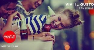 taste the feeling coca-cola