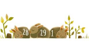 google doodle anno bisestile 2016