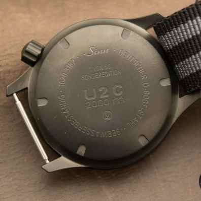 Sinn U2 C case back