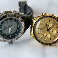 Speedy Tuesday   Astronaut Thomas P. Staffords Gold Speedmaster Professional