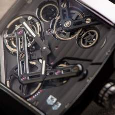 The Belt Driven TAG Heuer Monaco V4 Tourbillon