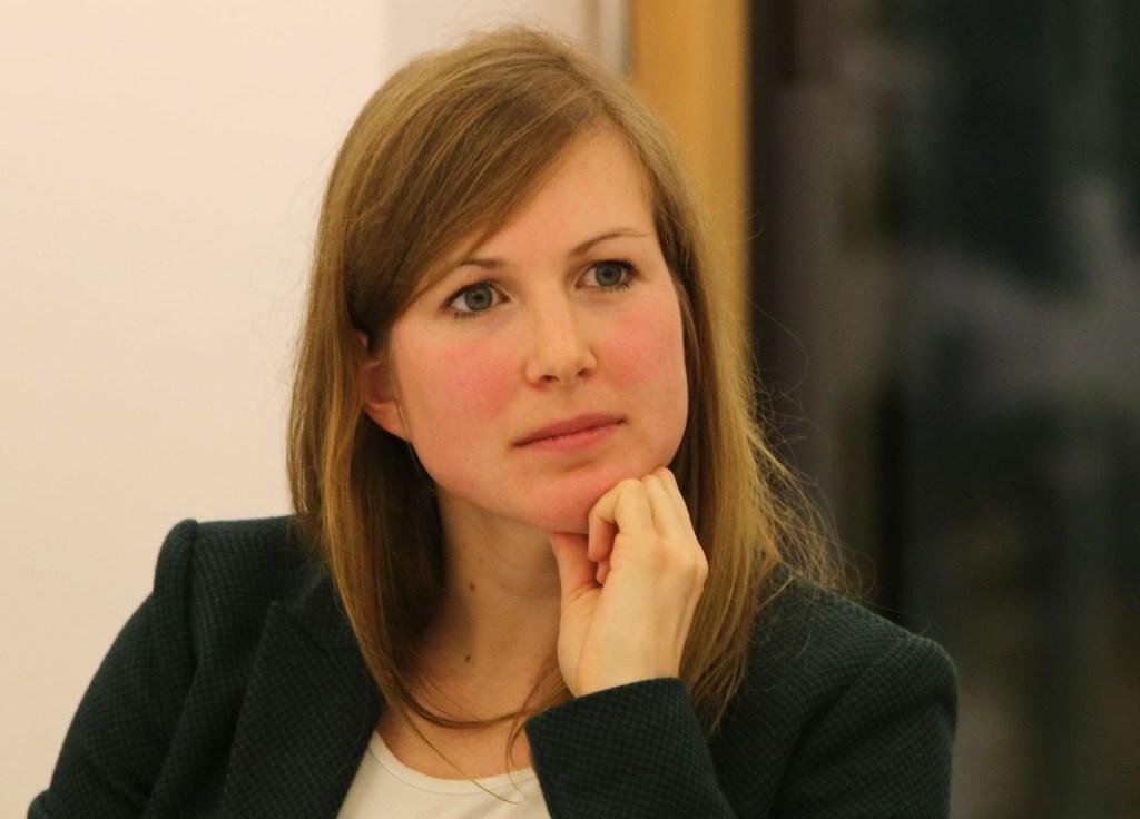 Julia Döhrn, Teilnehmerin der Munich Young Leaders auf der Münchner Sicherheitskonferenz. Foto: Körber-Stiftung/ Marc Darchinger