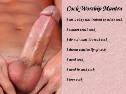 white cock worship captions