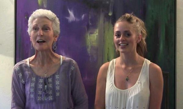 Sharon McCormick and Bridget Nielsen
