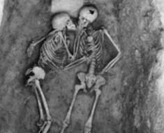 skeleton-couple Hasanlu lovers