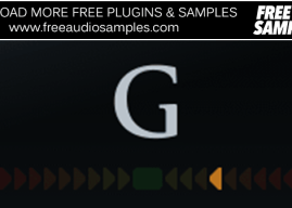 G VST – G Tune (Free Guitar Tuner Plugin)