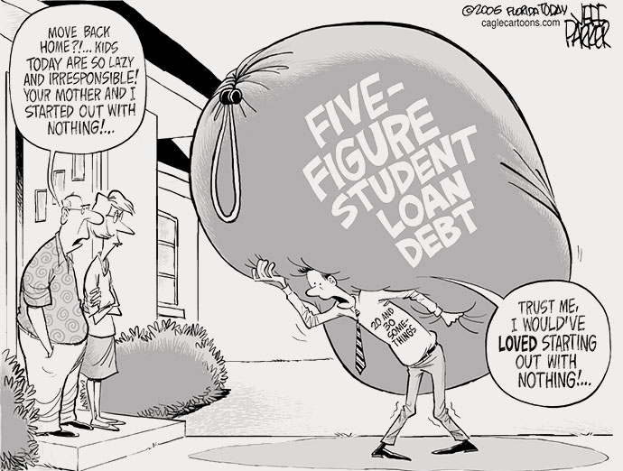 14-09-student-loan starting out with nothing 5 figure debt, generation forever indebted