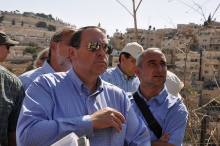 Mike Huckabee in Israel.
