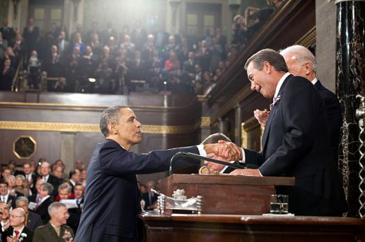 Obama and Boehner working together for the Democrat cause