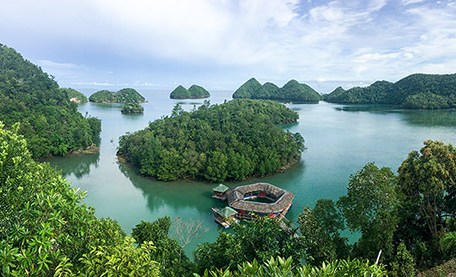 A picturesque scenery in Sipalay
