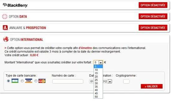 option international free mobile