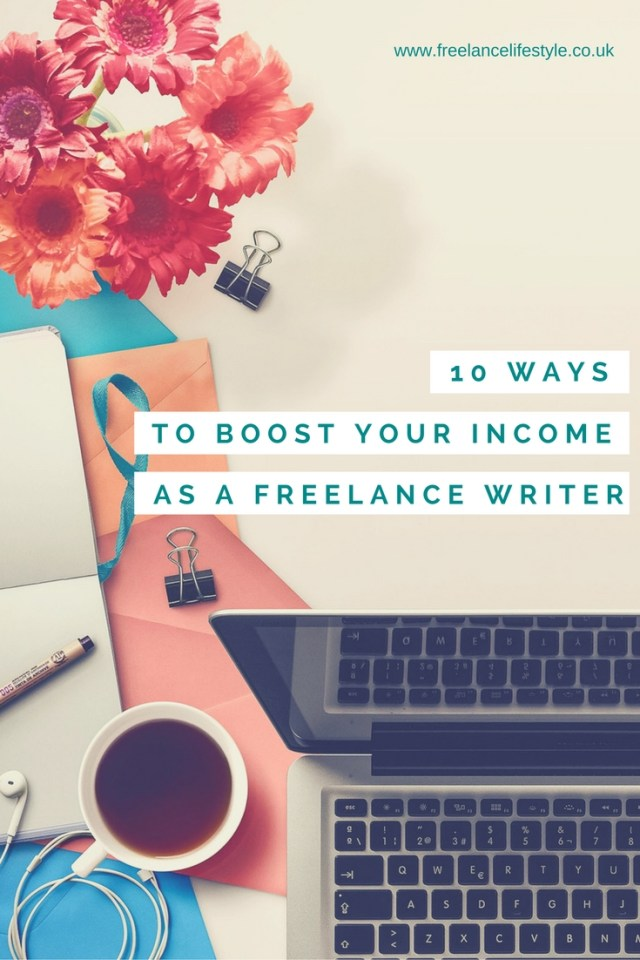 freelance writing income
