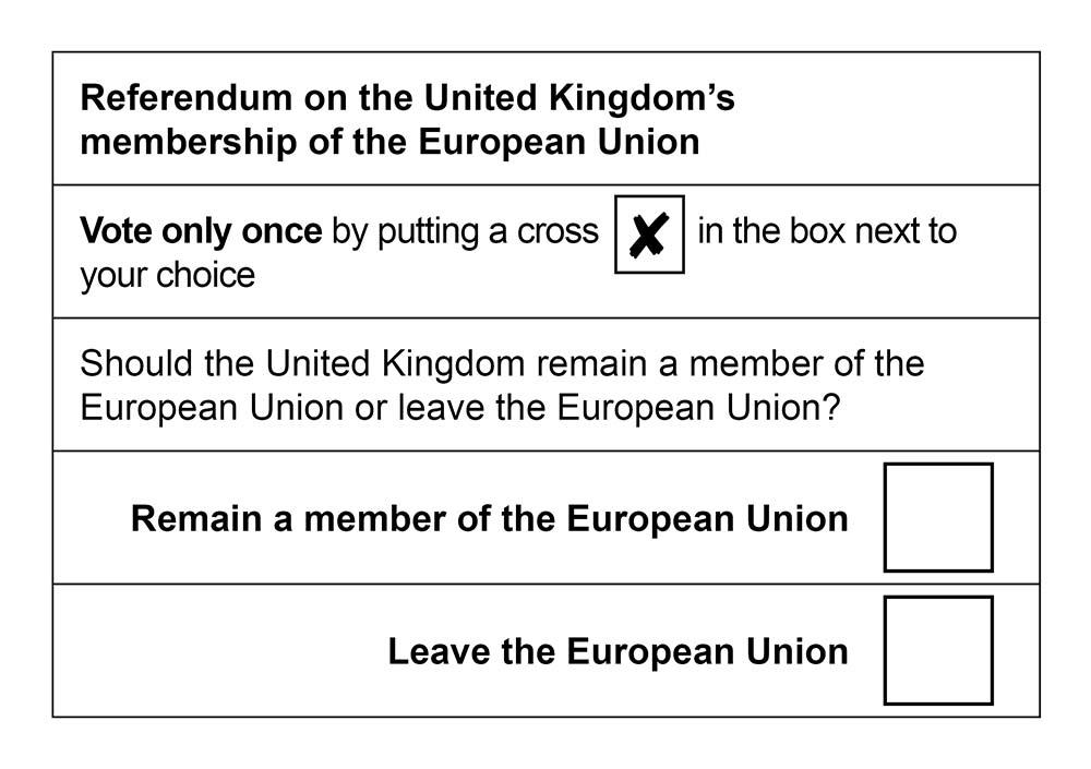 Referendum o Brexitu