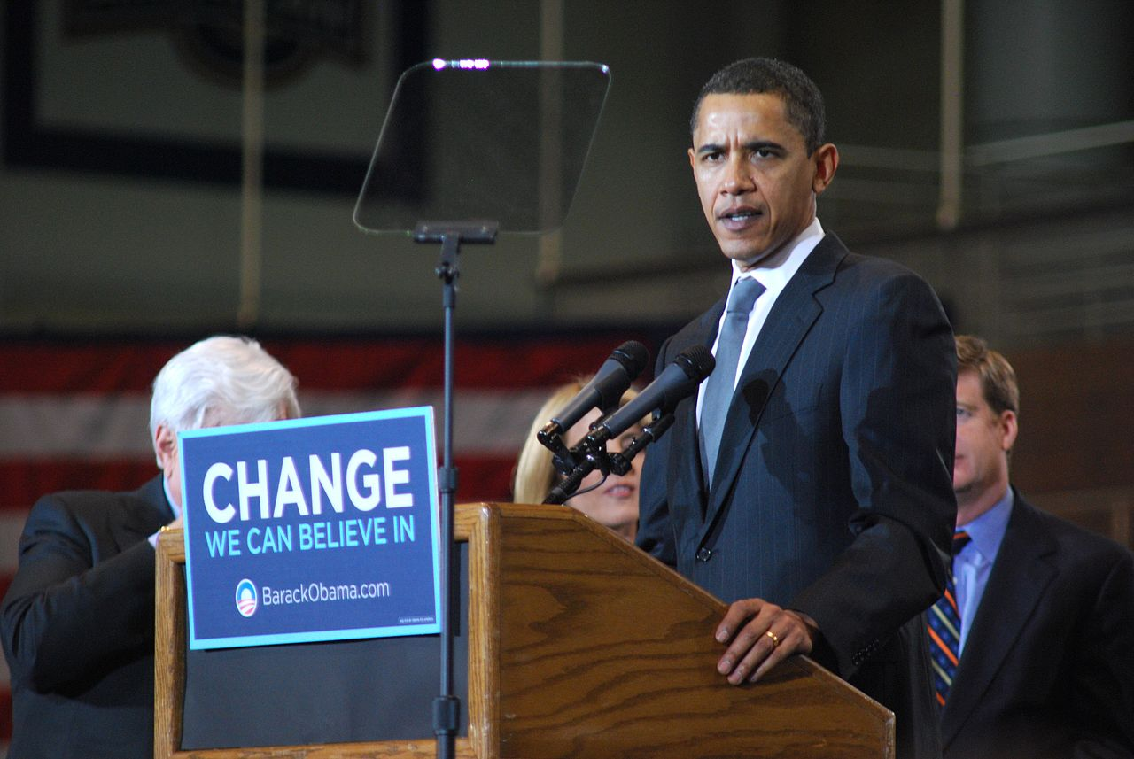 Barack Obama at American University, Will White