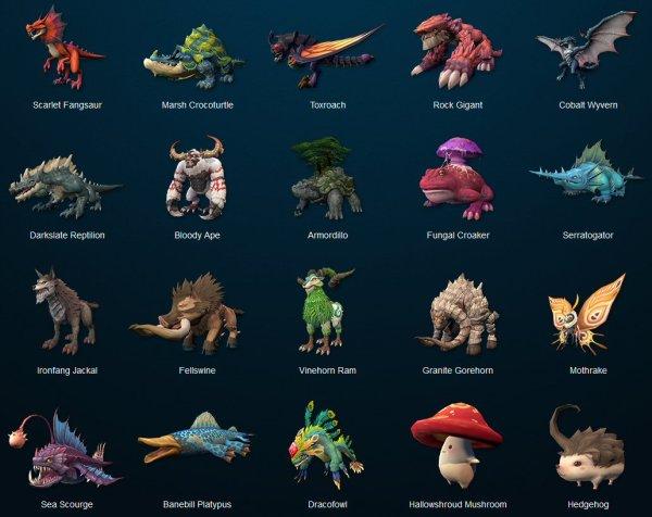 dragomon hunter creatures