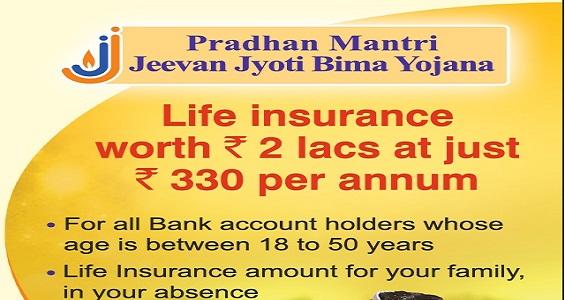 Pradhan Mantri Jeevan Jyoti Bima Yojna