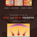 Fundamentals of Heat and Mass Transfer 7th edition solutions