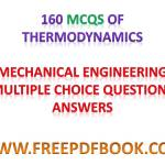 Thermodynamics – Mechanical Engineering Multiple choice Questions Answers