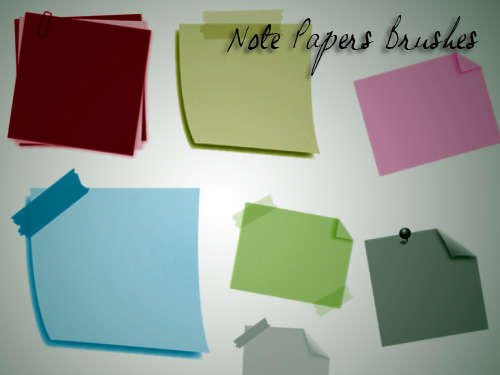 50 Useful Paper Photoshop Brushes For Creative Designs ...