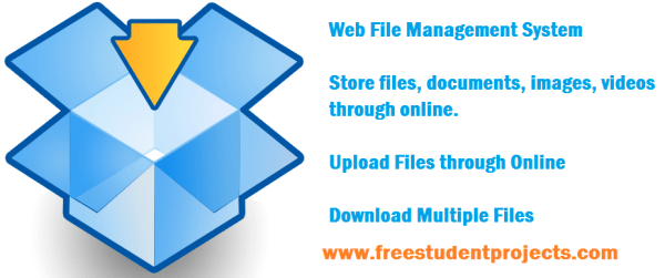 Web File Management System source code